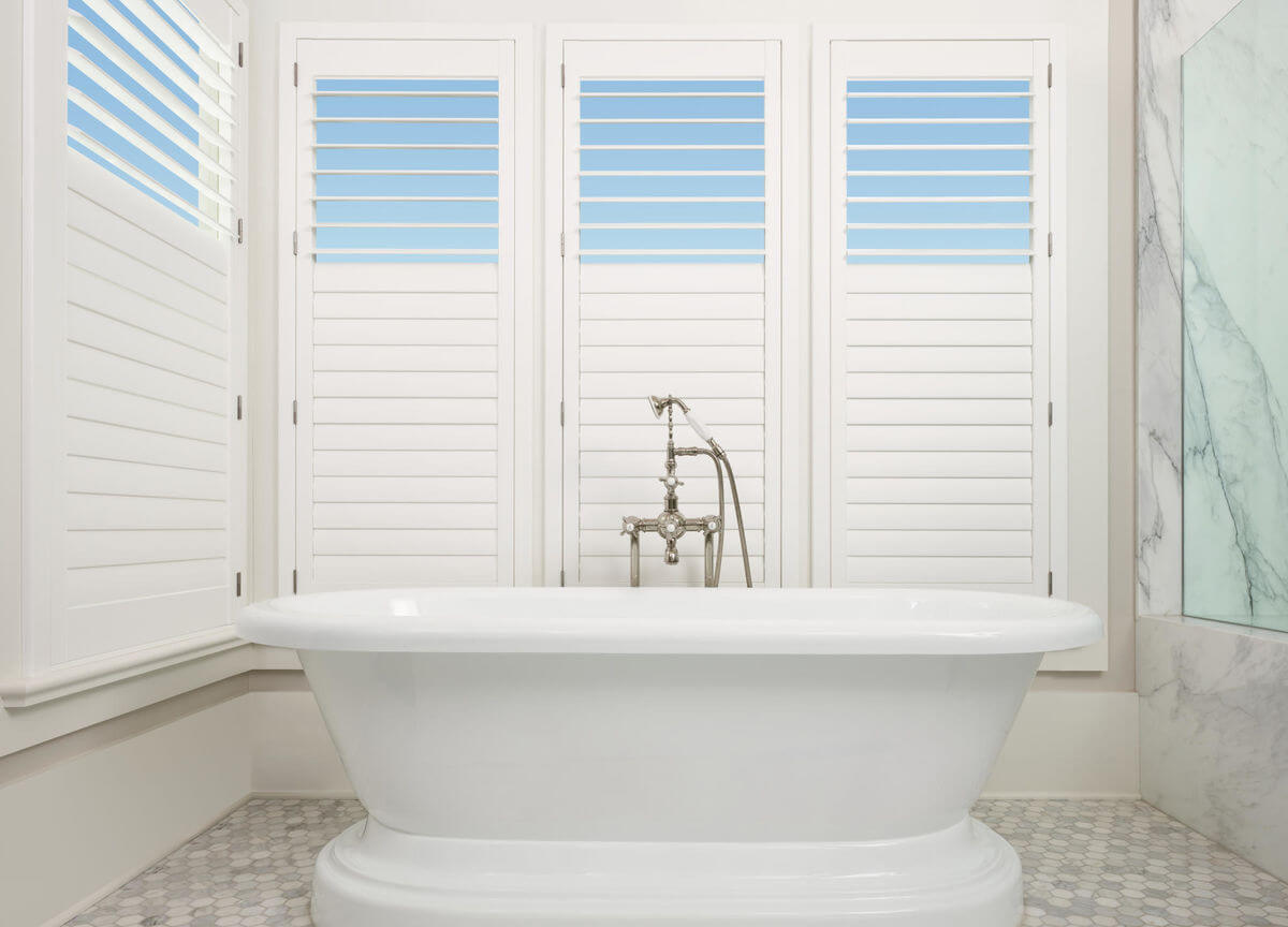 """Shutters can also have a split control called a """"split tilt"""" which allows the top section to operate independently from the bottom."""